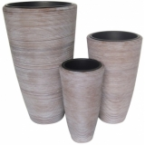 "EUROPALMS Deco pot set ""ITALIA"" 74/54/44cm"
