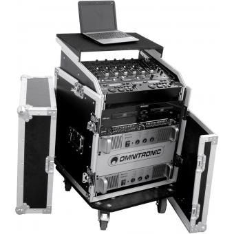ROADINGER Special Combo Case LS5 Laptop Desk, 14U #9