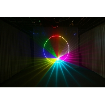 Mini text + clock laser light SPL-RGB-201 #4