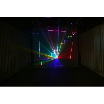 Mini text + clock laser light SPL-RGB-201 #5