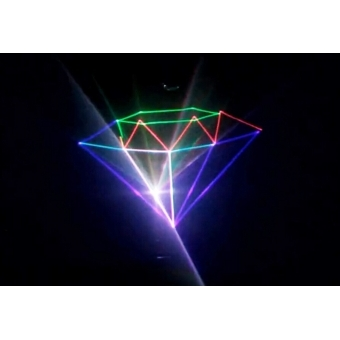 Mini text + clock laser light SPL-RGB-201 #8