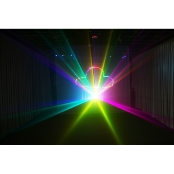 Mini text + clock laser light SPL-RGB-201 #6
