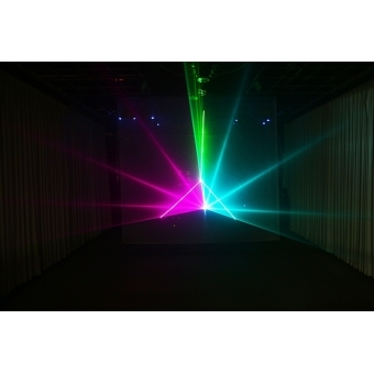 Mini text + clock laser light SPL-RGB-201 #9