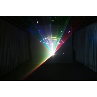 Mini text + clock laser light SPL-RGB-201 #10