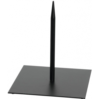 EUROPALMS Metal stand for deco 25x25cm black