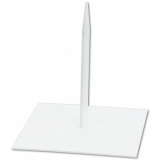 EUROPALMS Metal stand for deco 18x18cm white