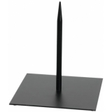 EUROPALMS Metal stand for deco 18x18cm black