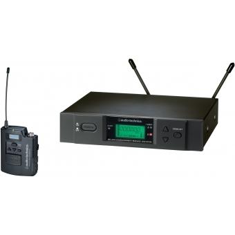 Sistem wireless Audio-Tehnica ATW-3110B beltpack+ receptor