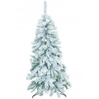 EUROPALMS Fir tree, flocked, 150cm