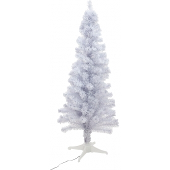 EUROPALMS Christmas tree Fiber LED, 180cm, white
