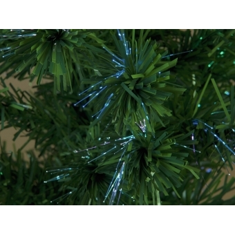 EUROPALMS Christmas tree Fiber LED, 180cm, white #3