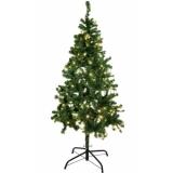 EUROPALMS Christmas tree, illuminated, 180cm
