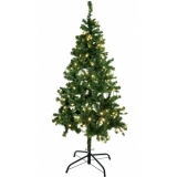 EUROPALMS Christmas tree, illuminated, 210cm
