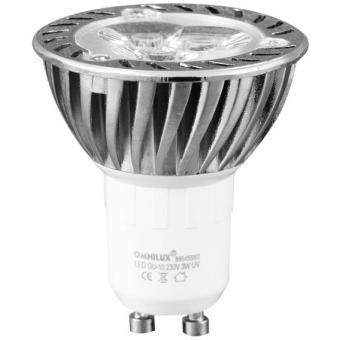 OMNILUX GU-10 230V 3x1W LED UV activ