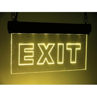 LED sign EXIT, RGB #2