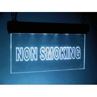 LED sign Non Smoking, RGB #2