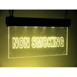 LED sign Non Smoking, RGB