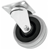 ROADINGER Swivel Castor 75mm grey