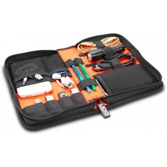 UDG Ultimate DIGI Wallet Small Black/Orange Inside #2