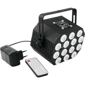 EUROLITE LED PS-46 RGB 14x1W Flash Spot #2