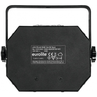 EUROLITE LED PS-46 RGB 14x1W Flash Spot #3