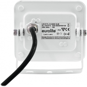 EUROLITE LED IP FL-10 3000K SLIM #3