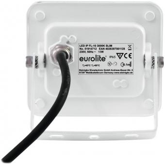 EUROLITE LED IP FL-10 3000K SLIM #3