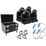 FUTURELIGHT Set 4x DMB-150 LED + case