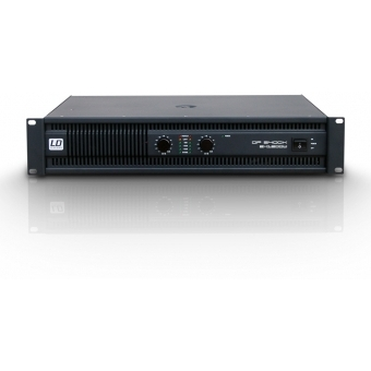 LD Systems DEEP2 Series -PA Power Amplifier 2 x 1200 W 2 ohm