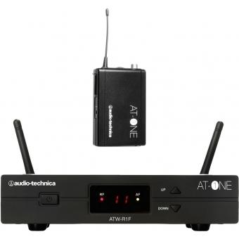 Sistem wireless Audio-Technica ATW-11HH2 Beltpack + Receiver
