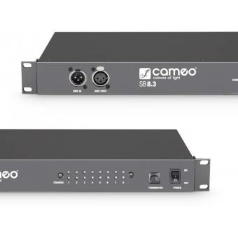Cameo SB8.3 - 8-channel DMX splitter / booster (3-pin) #3