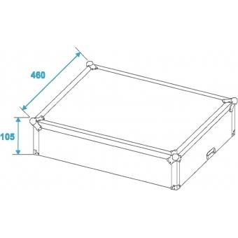 ROADINGER Mixer Case Pro MCBL-19, 8U #8