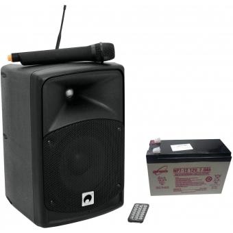 OMNITRONIC Set WAMS-08BT + Battery