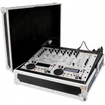 ROADINGER Mixer Case Pro MCB-19 sloping, bk, 12U #7