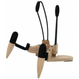 OMNITRONIC Design Wood Guitar Stand AC