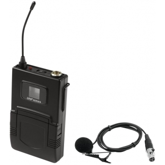 OMNITRONIC UHF-502 Bodypack 823-832MHz, incl. lavalier (CH A gre