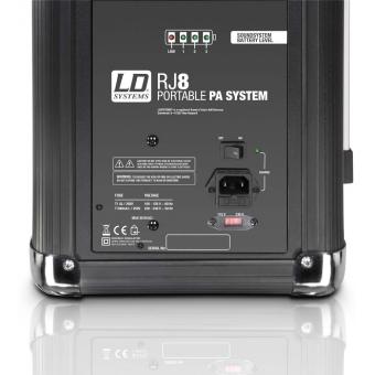 LD Systems Roadjack 8 - Boxa PA portabila #4