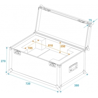 ROADINGER Flightcase SL-160/SL-350 #5