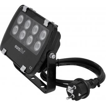 EUROLITE LED IP FL-8 green 30°