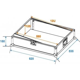 ROADINGER Mixer Case Pro MCV-19 variable bk 12U #2
