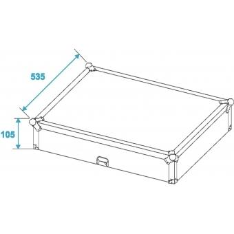 ROADINGER Mixer Case Pro MCV-19 variable bk 12U #11