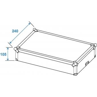ROADINGER Mixer Case Pro MCA-19-N, 3U, black #7