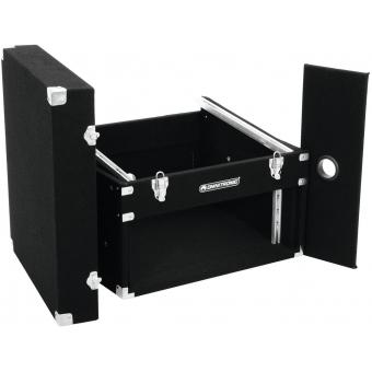 ROADINGER Combo Case 4U Carpet black #4
