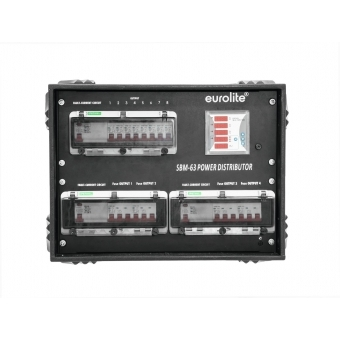 EUROLITE SBM-63 Power Distributor #4