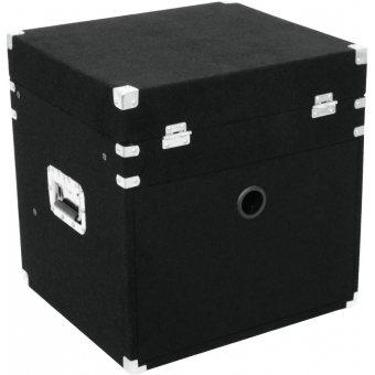 ROADINGER Combo Case 8U Carpet black #3