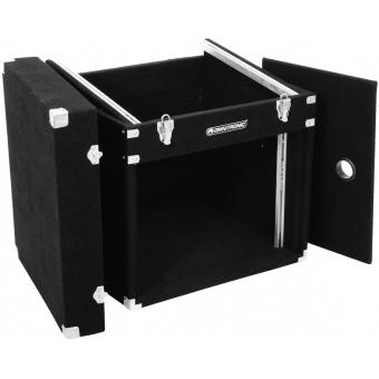 ROADINGER Combo Case 8U Carpet black #4