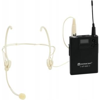 RELACART UT-222 Bodypack with HM-800S Headset