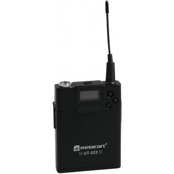 RELACART UT-222 Bodypack with HM-800S Headset #2