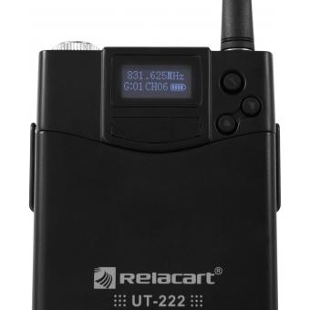 RELACART UT-222 Bodypack with HM-800S Headset #4