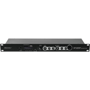 OMNITRONIC EP-220P Preamplifier with MP3 Player